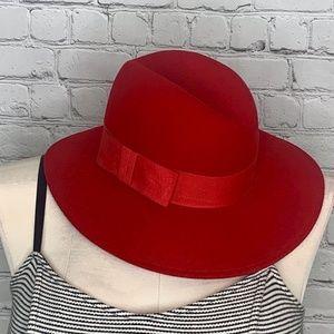 VINTAGE: Doeskin Wool Hat